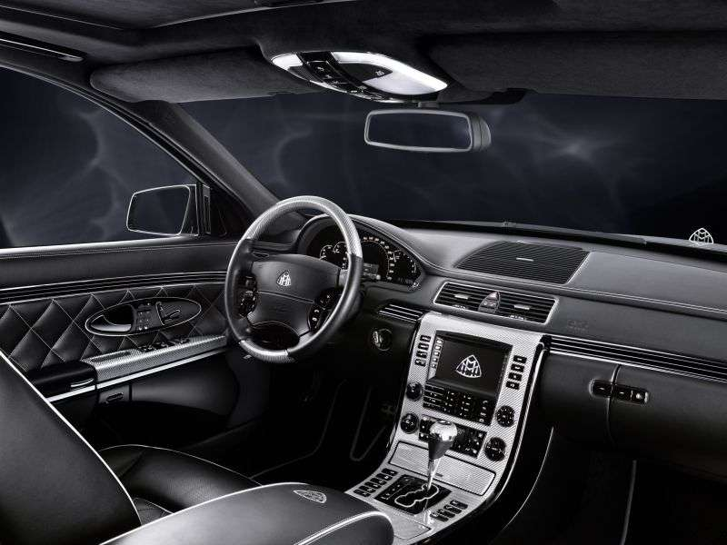 Maybach 57 1st generation [restyling] 4 door sedan 5.5 AT Basic (2010–2012)