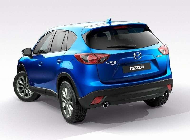 Mazda CX 5 1st generation crossover 2.2 D AT 4WD Active + (2013 – v.)