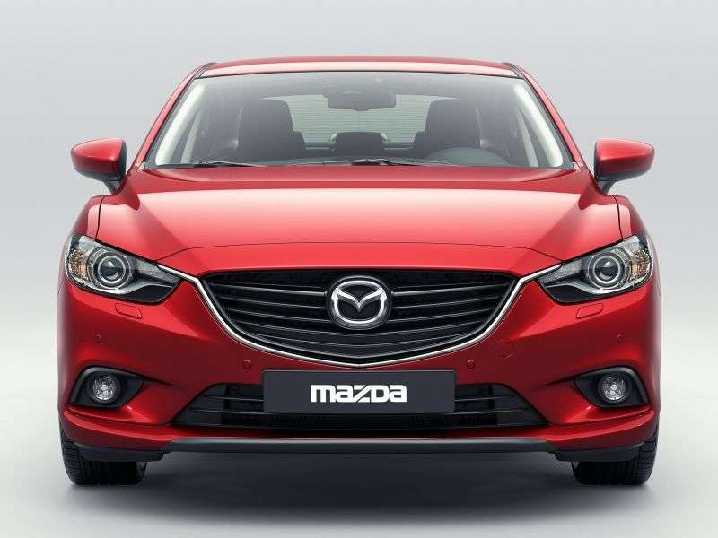 Mazda 6 3rd generation sedan 2.0 AT Active (2012 – n. In.)