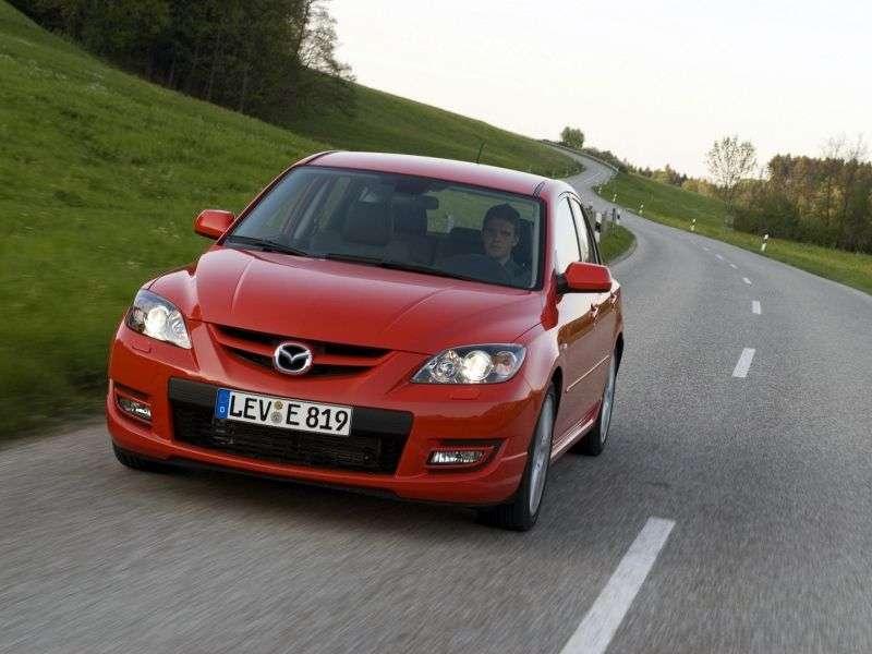 Mazda 3 BK [restyling] MPS hatchback 5 dv. 2.3 T MT (2007–2009)