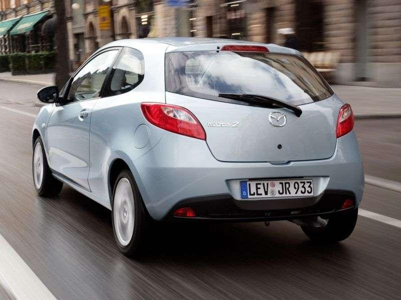 Mazda 2 2 generation hatchback 3 dv. 1.5 AT (2008–2010)