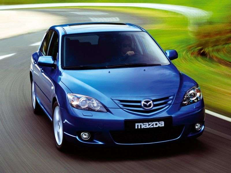 Mazda 3 BKhetchbek 5 dv. 1.6 CiTD MT (2003–2006)