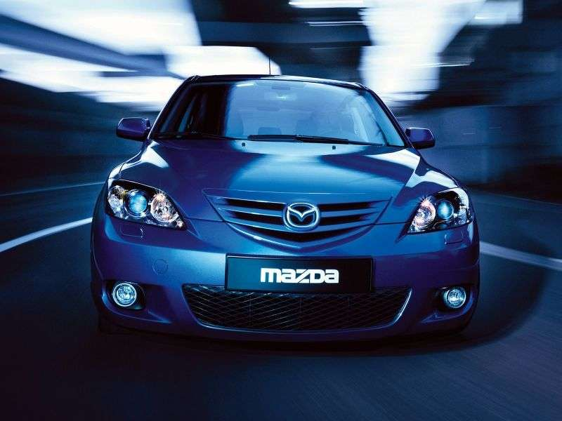 Mazda 3 BKhetchbek 5 dv. 2.3 MT (2003–2006)