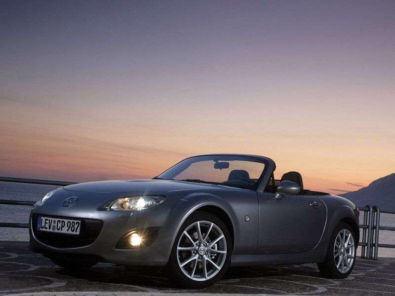 Mazda MX 5 NC [restyling] roadster 2 dv. 1.8 MT Energy (2011) (2008 – present)