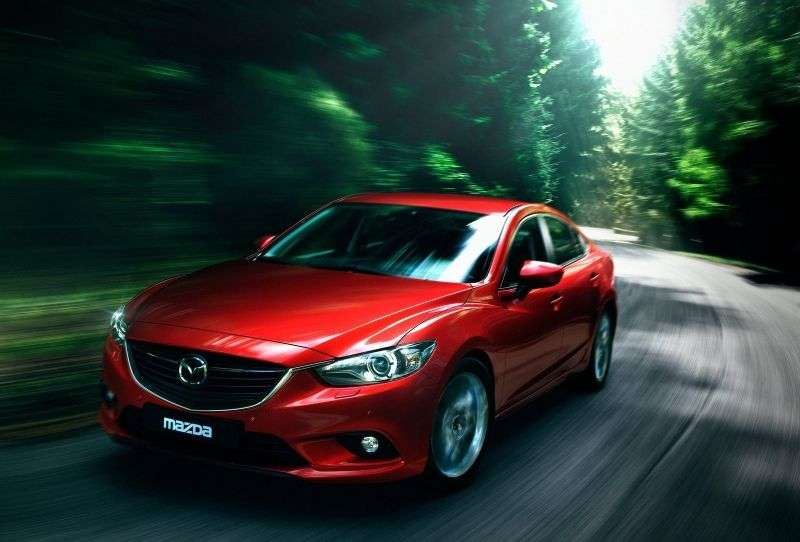Mazda 6 3rd generation sedan 2.0 SKYACTIV G MT (2012 – n.)