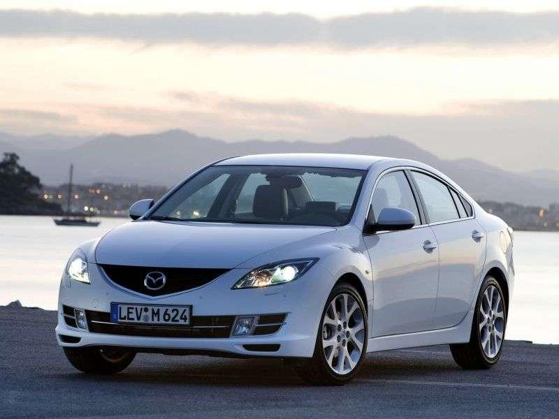 Mazda 6 2nd generation 2.5 MT sedan (2007–2010)