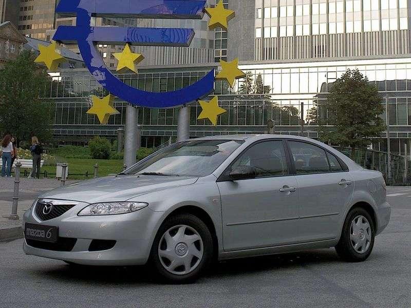 Mazda 6 1st generation hatchback 2.3 MT (2002–2005)