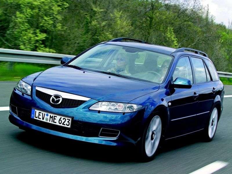 Mazda 6 1st generation [restyled] wagon 3.0 MT (2005–2007)