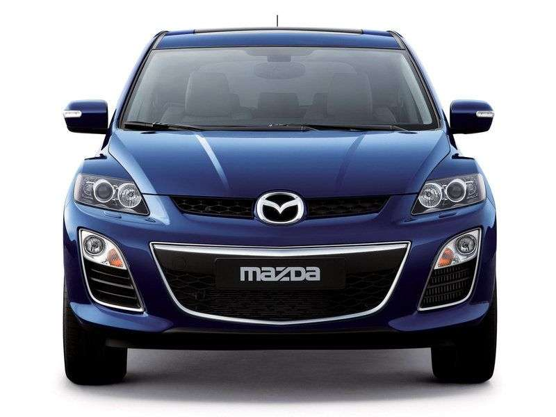 Mazda CX 7 1st generation [restyled] crossover 2.3 AT Sport (2012) (2009–2012)