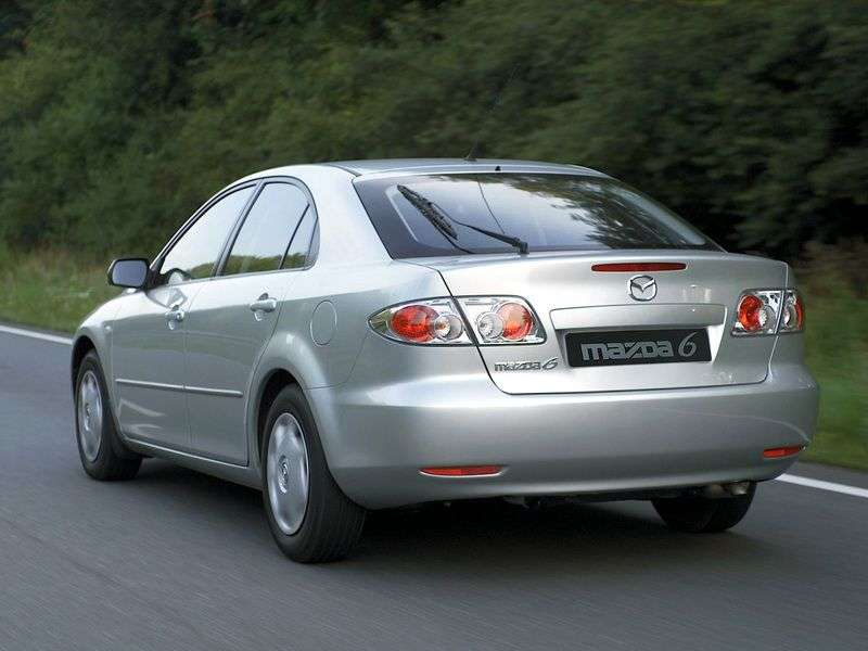 Mazda 6 1st generation hatchback 2.3 AT (2002–2005)