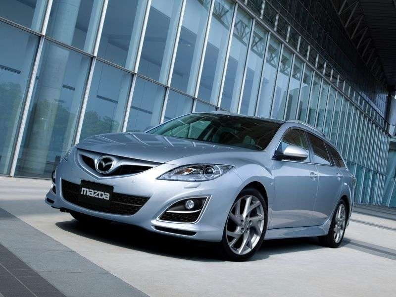 Mazda 6 2nd generation [restyling] universal 2.2 MZR CD MT (2010–2013)
