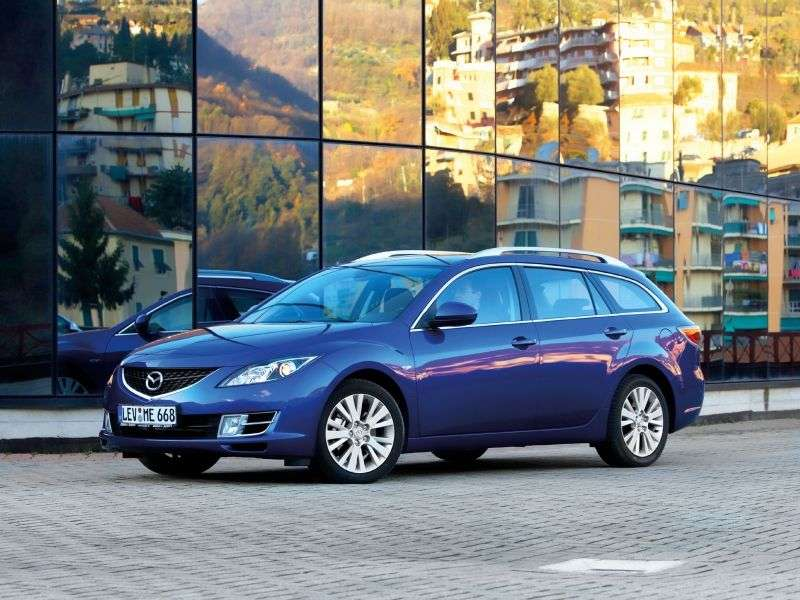 Mazda 6 2nd generation wagon 2.0 MT (2007–2010)