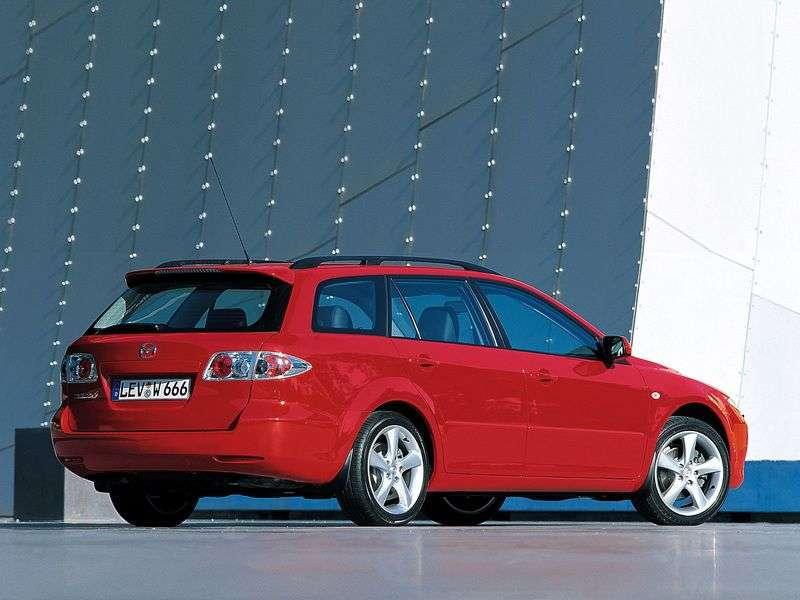 Mazda 6 1.generacja Estate 2.3 AT AWD (2002 2005)