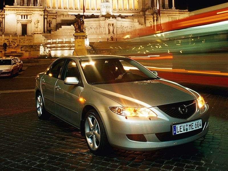 Mazda 6 1st generation sedan 3.0 AT (2002–2005)