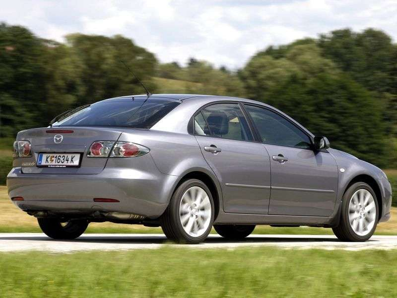 Mazda 6 1st generation [restyled] hatchback 2.0 MZR CD MT (2005–2007)
