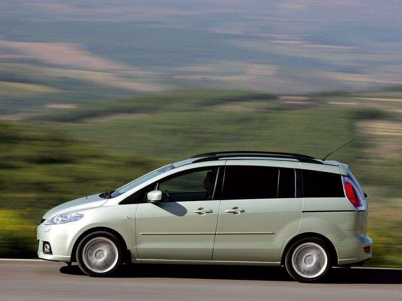 Mazda 5 1st generation [restyled] minivan 1.8 MT (2008–2010)
