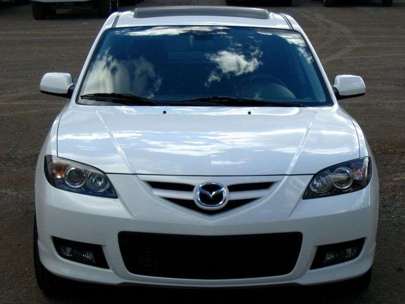 Mazda 3 BK [restyling] 1.6 MT sedan (2008 – present)