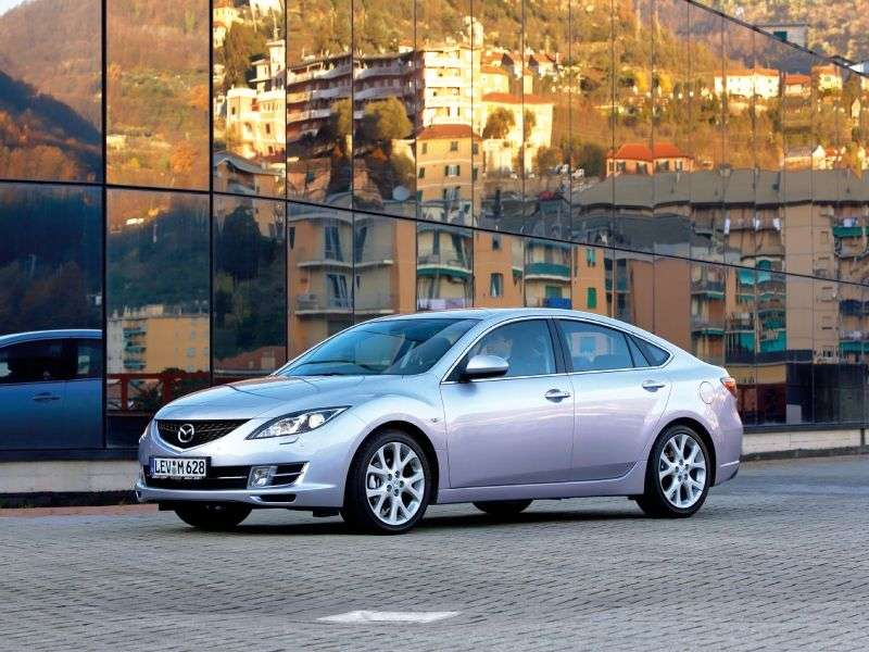 Mazda 6 2nd generation hatchback 1.8 MT (2007–2010)