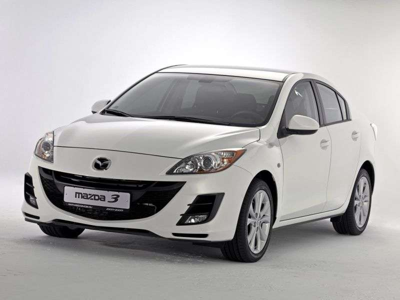 Mazda 3 BL sedan 1.6 MT Touring Plus (2009–2011)