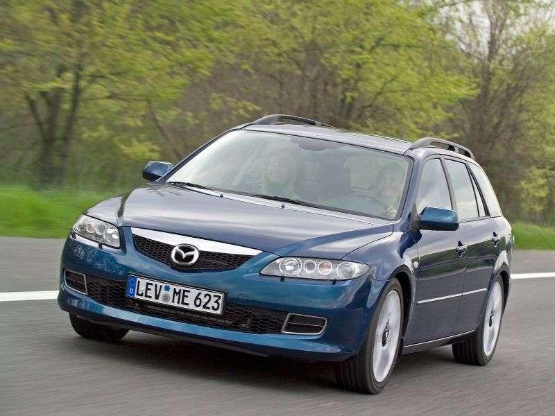 Mazda 6 1st generation [restyled] wagon 2.3 MT (2005–2007)