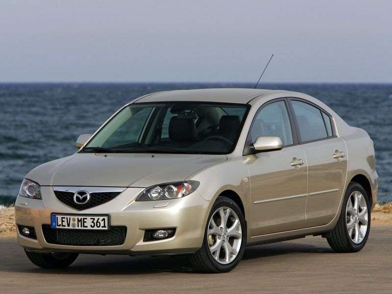 Mazda 3 BK [restyling] sedan 2.0 AT (2008 – present)