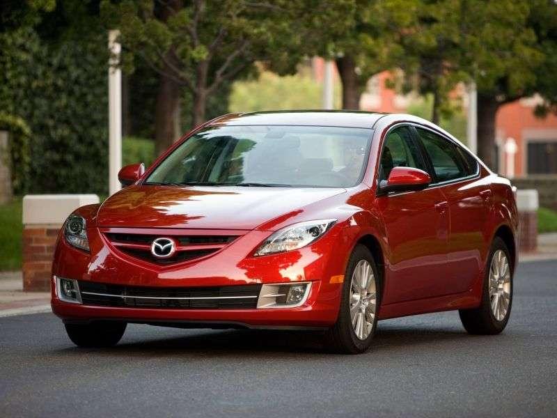 Mazda 6 2nd generation US Spec. 4 door sedan 2.5 AT (2008–2012)