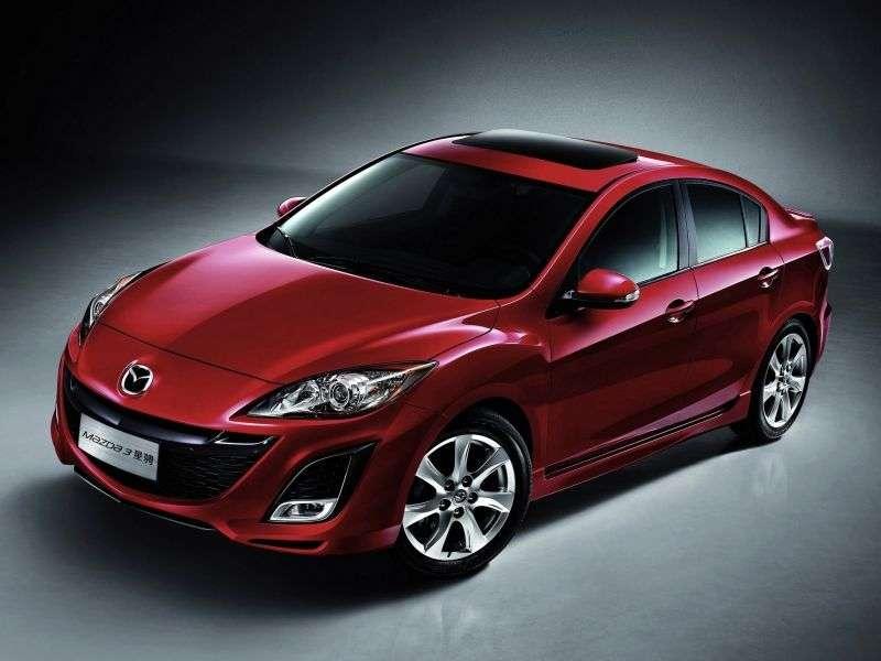Mazda 3 BL sedan 1.6 AT Impulse line (2009–2011)
