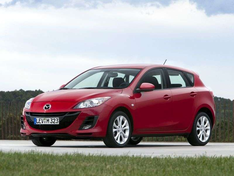 Mazda 3 BLhetchbek 5 dv. 1.6 AT Touring Plus (2009–2011)