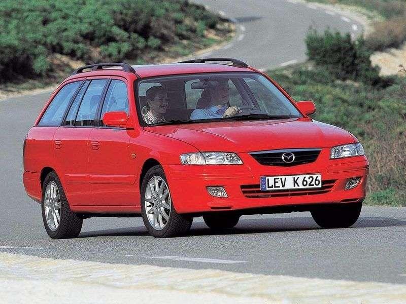 Mazda 626 G Universal 2.0 MT (1998–2002)