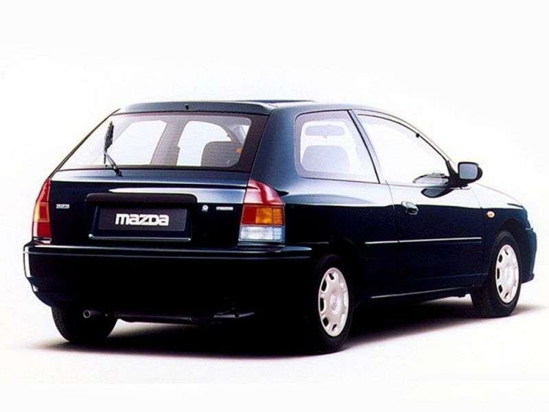 Mazda 323 BJhetchbek 3 dv. 2.0 D MT (1998–2003)