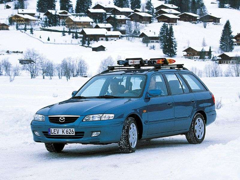 Mazda 626 G Universal 1.8 MT (2000–2002)