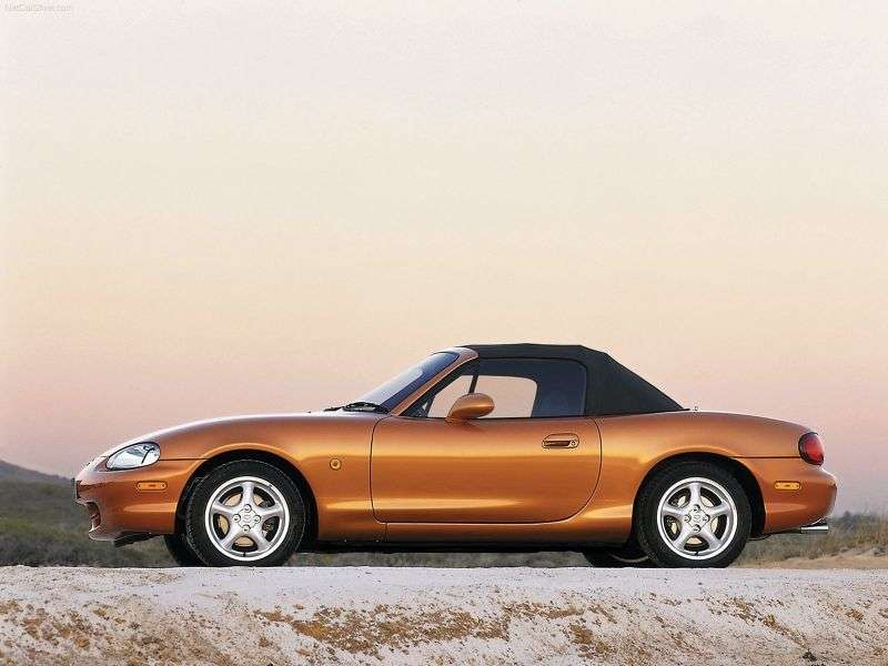 Mazda MX 5 NB Convertible 1.8 AT (1998–2001)
