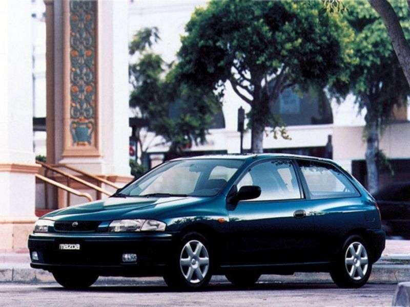 Mazda 323 BJhetchbek 3 dv. 1.5 MT (1998–2003)