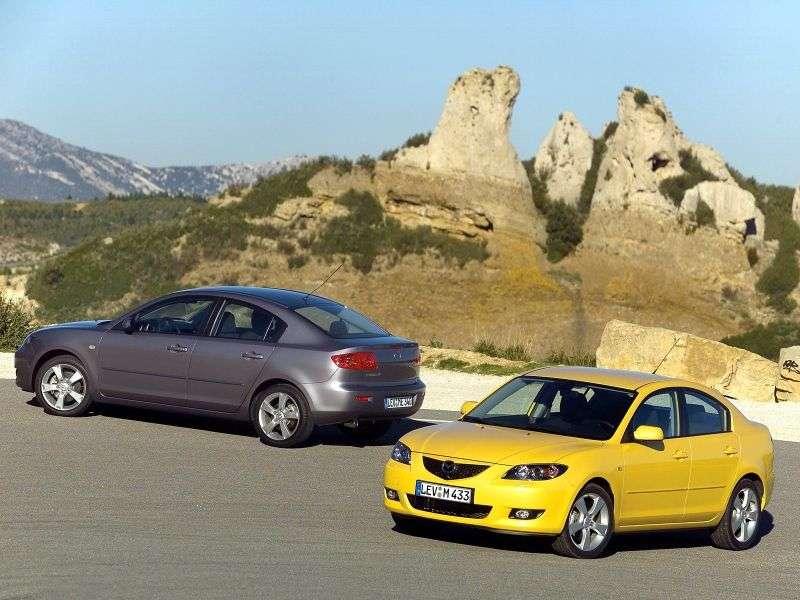 Mazda 3 BKsedan 4 bit 2.3 AT (2003–2006)