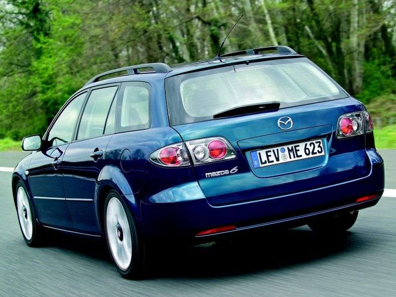 Mazda 6 1st generation [restyled] wagon 3.0 AT (2005–2007)