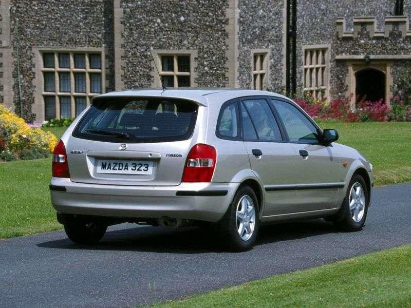 Mazda 323 BJhetchbek 5 dv. 2.0 TDI MT (1998–2003)
