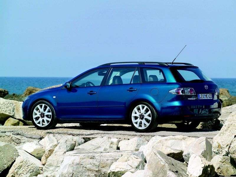 Mazda 6 1st generation [restyled] station wagon 2.0 MT (2005–2007)