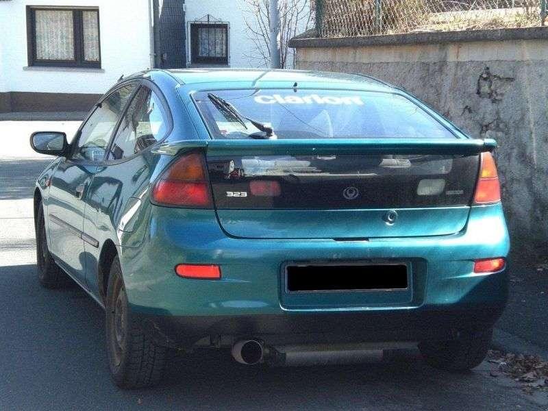 Mazda 323 BAhetchbek 3 dv. 1.5 MT (1994–1998)