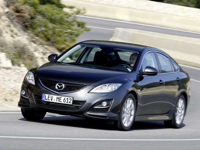 Mazda 6 2nd generation [restyling] 1.8 MT Touring hatchback (2012) (2010–2013)