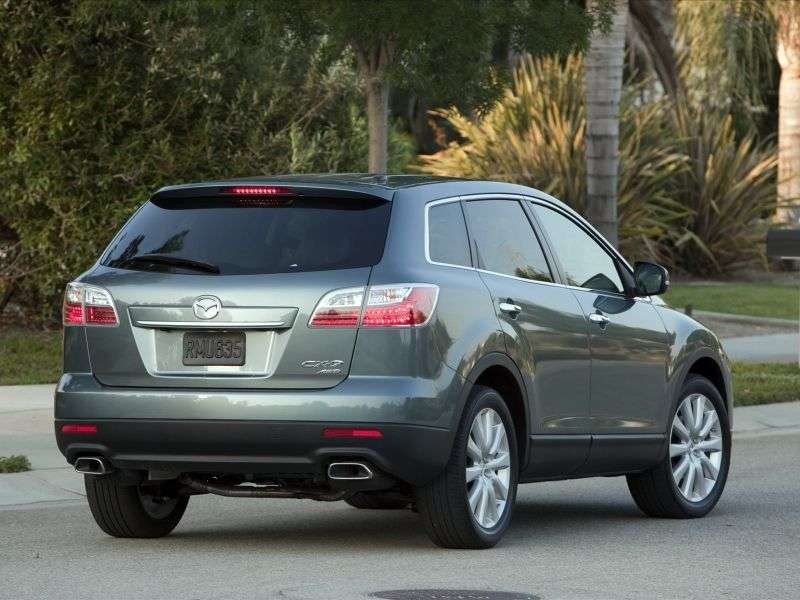 Mazda CX 9 1st generation [restyled] crossover 3.7 AT (2010–2012)