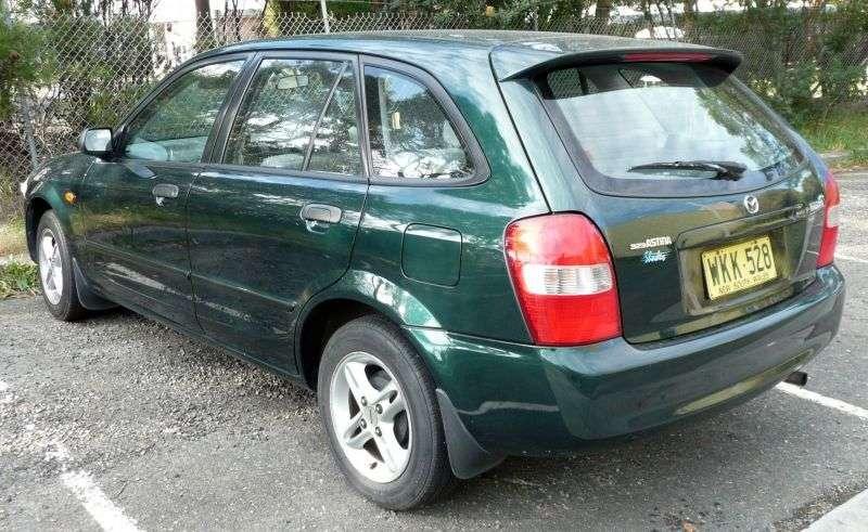 Mazda 323 BJhetchbek 5 dv. 2.0 D MT (1998–2003)