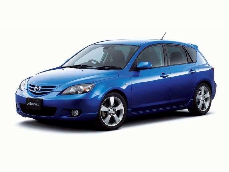 Mazda Axela 1st generation hatchback 2.0 MT (2003–2009)