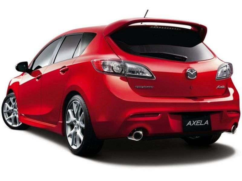 Mazda Axela 2nd generation hatchback 2.0 AT 4WD (2009 – n.)