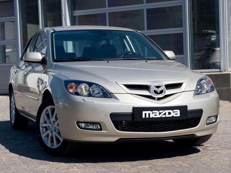 Mazda 3 BK [restyling] hatchback 2.0 AT (2008–2009)