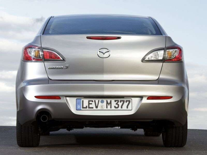 Mazda 3 BL [restyling] 2.5 AT saloon (2011 – n.)