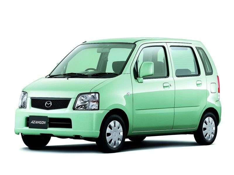 Mazda Az wagon 2nd generation wagon 0.7 MT (1998 – n.)