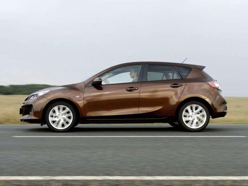 Mazda 3 BL [restyling] hatchback 1.6 AT Emotion Line (2011 – н. В.)