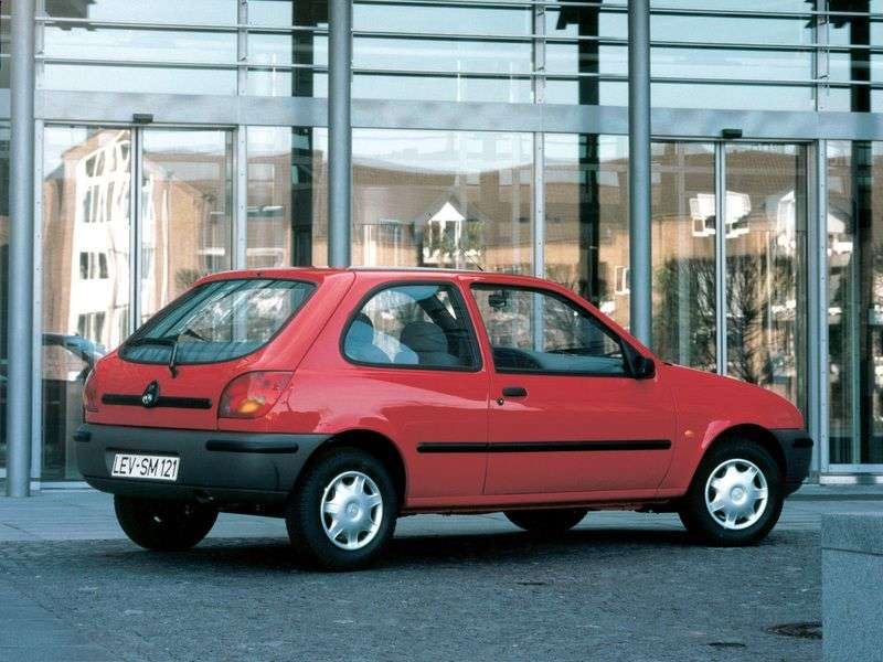 Mazda 121 3 generation hatchback 1.3 MT (1996–2000)