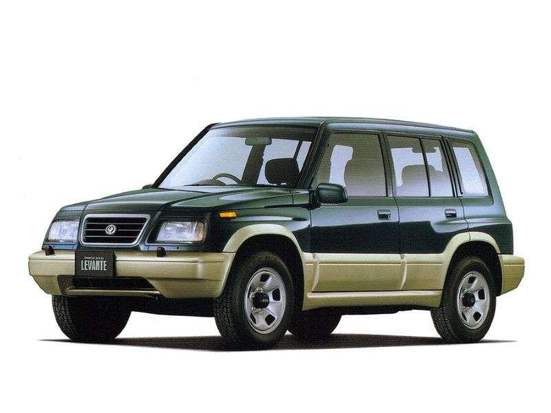 Mazda Levante 1st generation SUV 5 bit. 2.0 MT 4WD (1996 – n. In.)