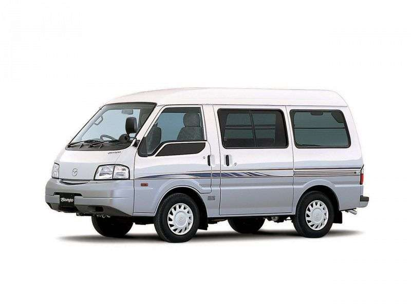 Mazda Bongo 4 generation minivan 2.0 AT (2000 – n.)